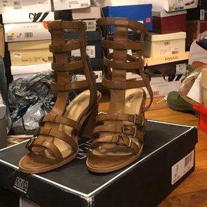 Shoes - MIA Tan Sandals